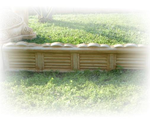 Ricci manufatti creazioni in cemento for Cordoli per giardino