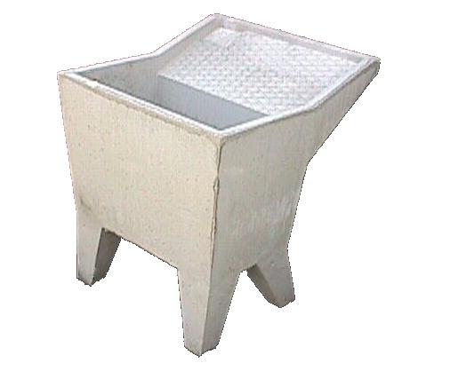 Lavatoio in cemento ispirazione di design per la casa e - Pilozzo esterno ...