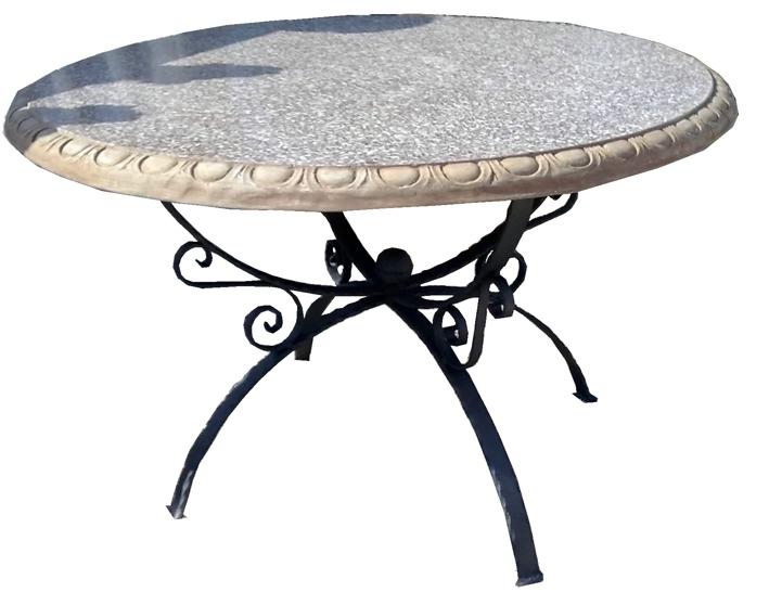 Tavolo in ferro battuto per giardino con prezzi decorare la tua casa - Tavolo giardino ferro battuto ...